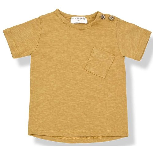 1+ in the Family Judd Short Sleeve Mustard shirt