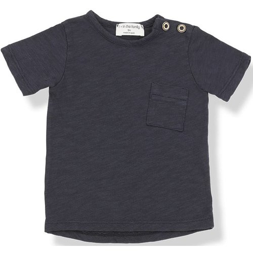 1+ in the Family Judd Short Sleeve Blu Notte shirt