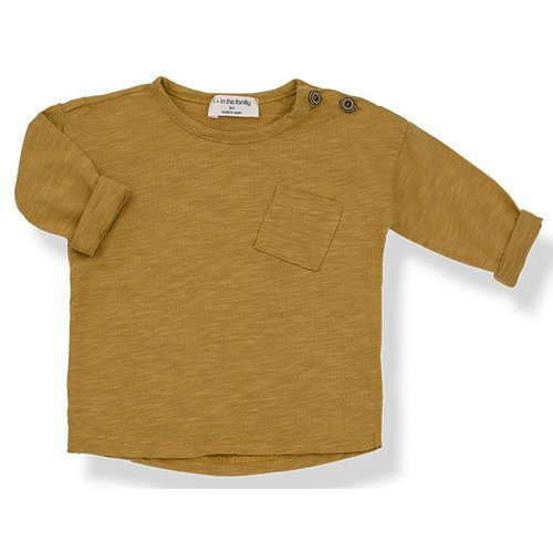 1+ in the Family Jasper Long Sleeve T-shirt Mustard