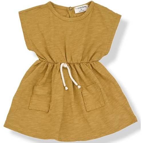 1+ in the Family Katya Dress Mustard jurk