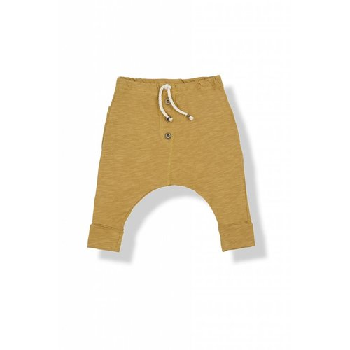 1+ in the Family Raul Pants Mustard broek