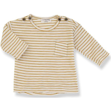 1+ in the Family Renoir Long Sleeve t-shirt Mustard