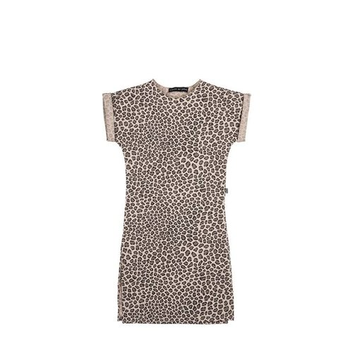 House of Jamie Maxi Dress Caramel Leopard jurk