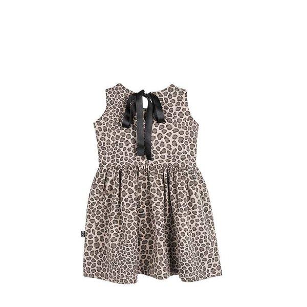 Oversized Summer Dress Carcamel Leopard