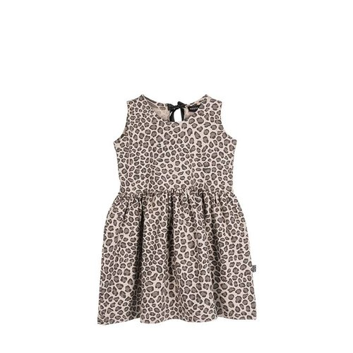 House of Jamie Oversized Summer Dress Carcamel Leopard