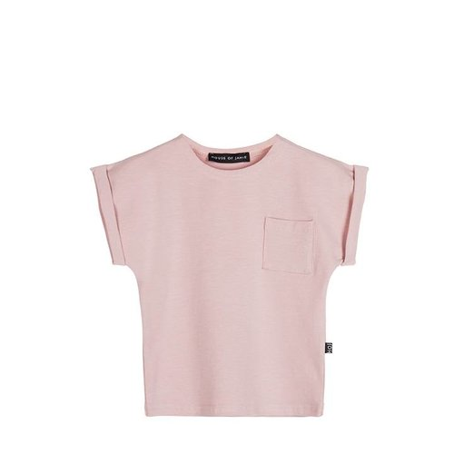 House of Jamie Batwing Tee Powder Pink
