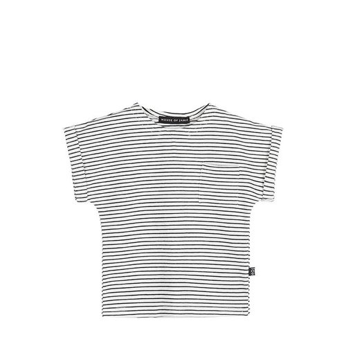 House of Jamie Batwing Tee Little Stripes