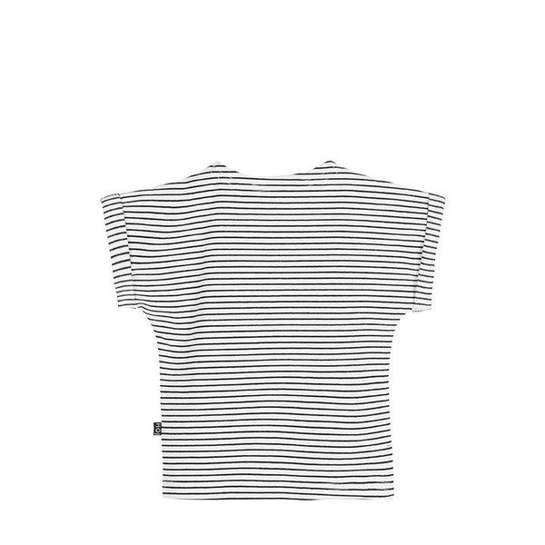 Batwing Tee Little Stripes shirt