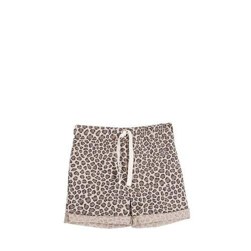 House of Jamie Summer Shorts Caramel Leopard korte broek