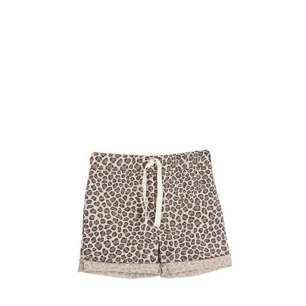 Summer Shorts Caramel Leopard korte broek