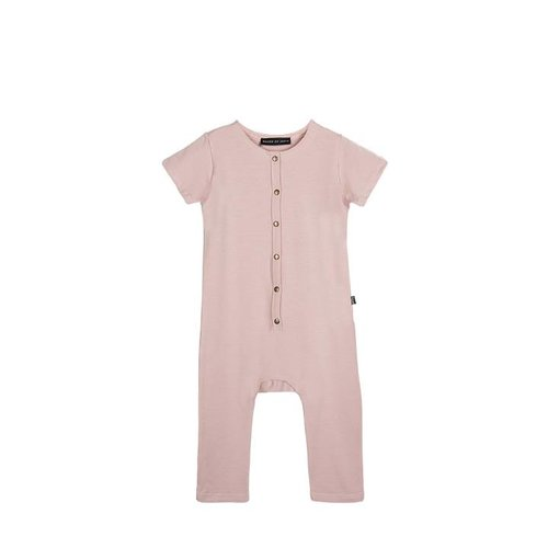 House of Jamie Laid Back Jumpsuit Powder Pink