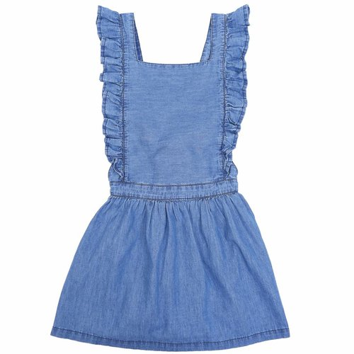 Emile et Ida Dress Light Chambay jurk