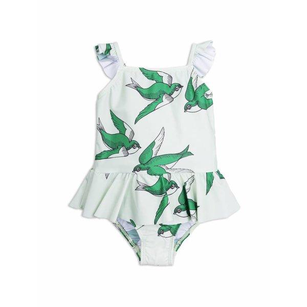 Swallows Skirt Swimsuit Green