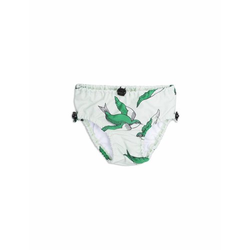 Mini Rodini Swallows Baby Swimpants Green