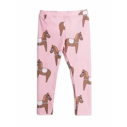 Mini Rodini Horse Fancy Leggings Pink