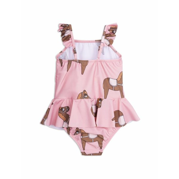 Horse Skirt Swimsuit Pink