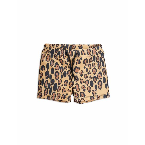 Mini Rodini Leopard Swimpants Beige zwembroek