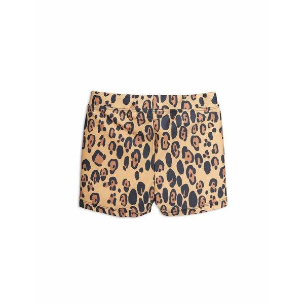 Leopard Swimpants Beige