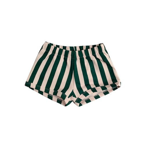 Hugo Loves Tiki Shorts Beverly Hills Stripe