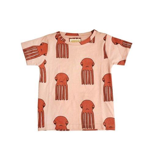 Hugo Loves Tiki T Shirt Octopus