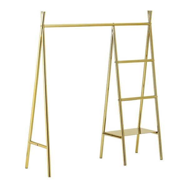 Clothes Rack Gold