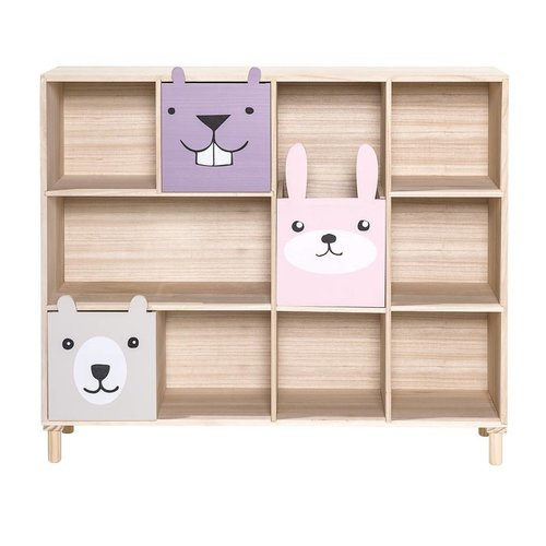 Bloomingville Mini Bookcase w/Drawers Rose