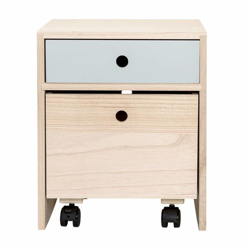 Bloomingville Mini Bedside Table Blue