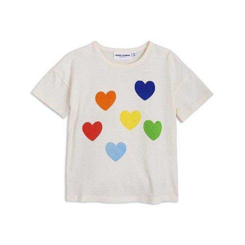 Mini Rodini Rainbow Love SP SS Tee