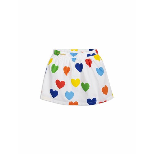 Mini Rodini Rok - Rainbow Love Woven Skirt