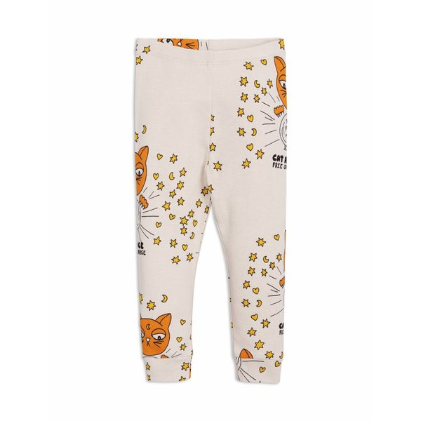 Cat Advice Leggings Beige