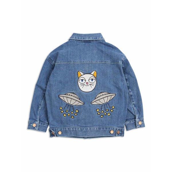 Space Cat Denim Jacket