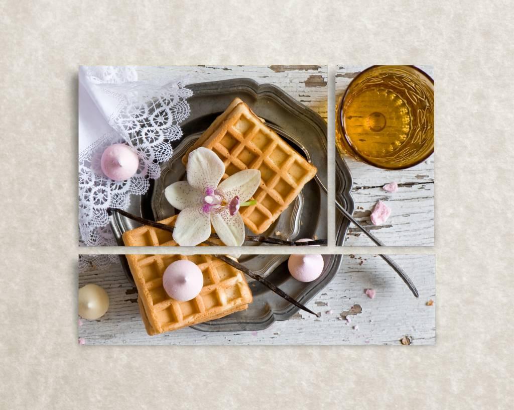 Foto op canvas Belgian Breakfast