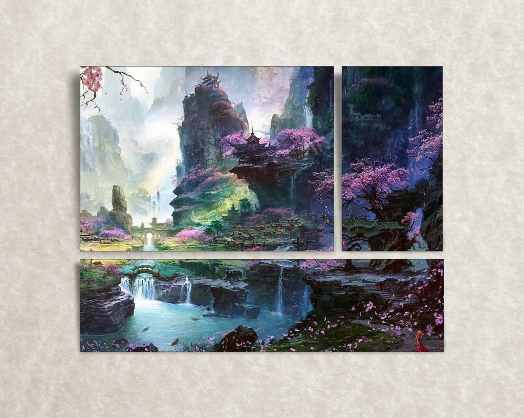 Foto op canvas Japanese fairy tale