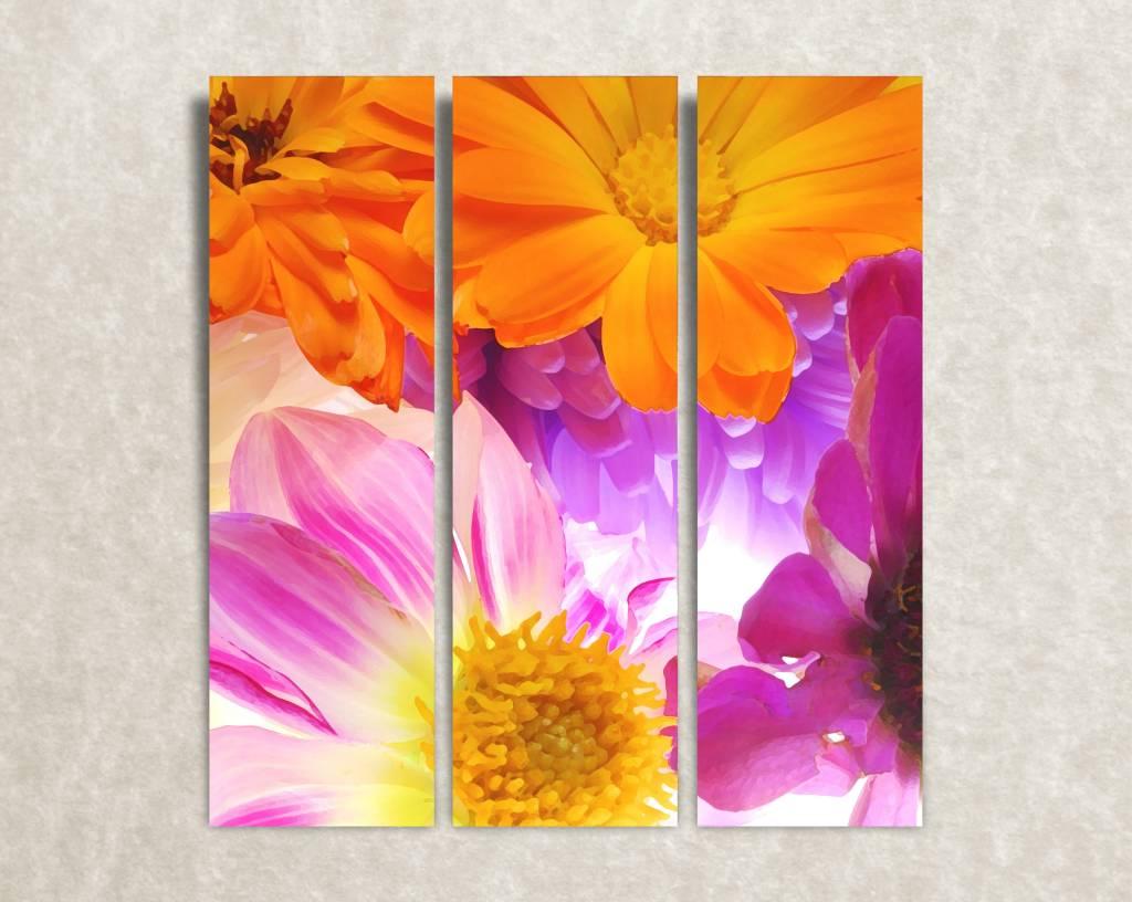 Canvas foto Floral choir