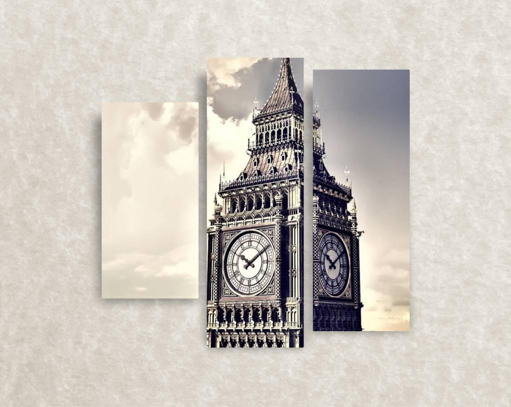 Canvas foto Over Big Ben