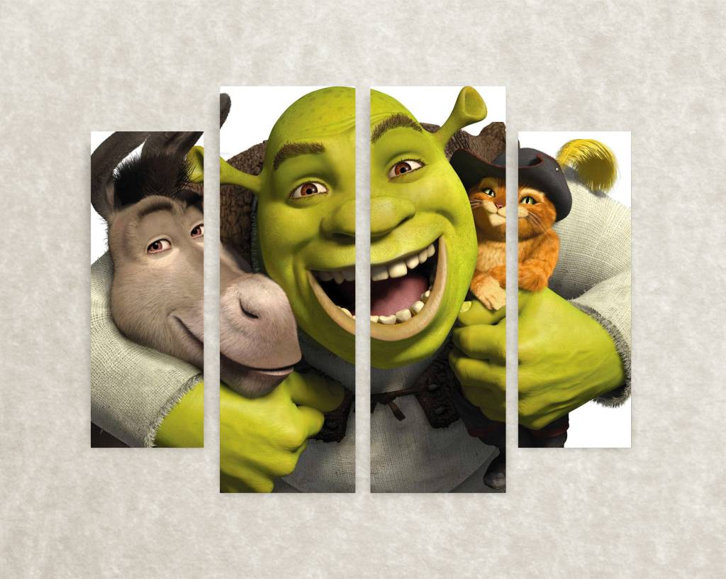 Canva poster Shrek