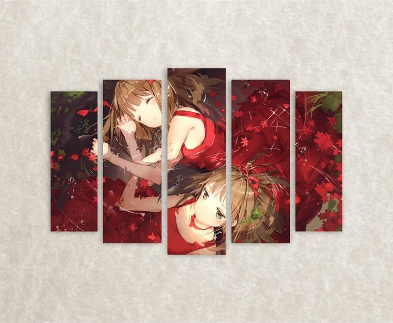 Canvas afbeelding Anime