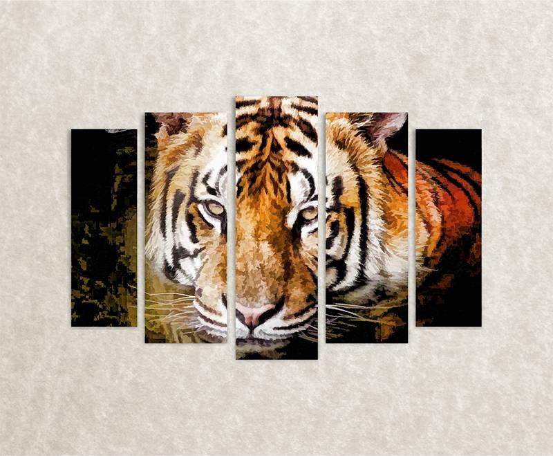 Canvas foto Tigris
