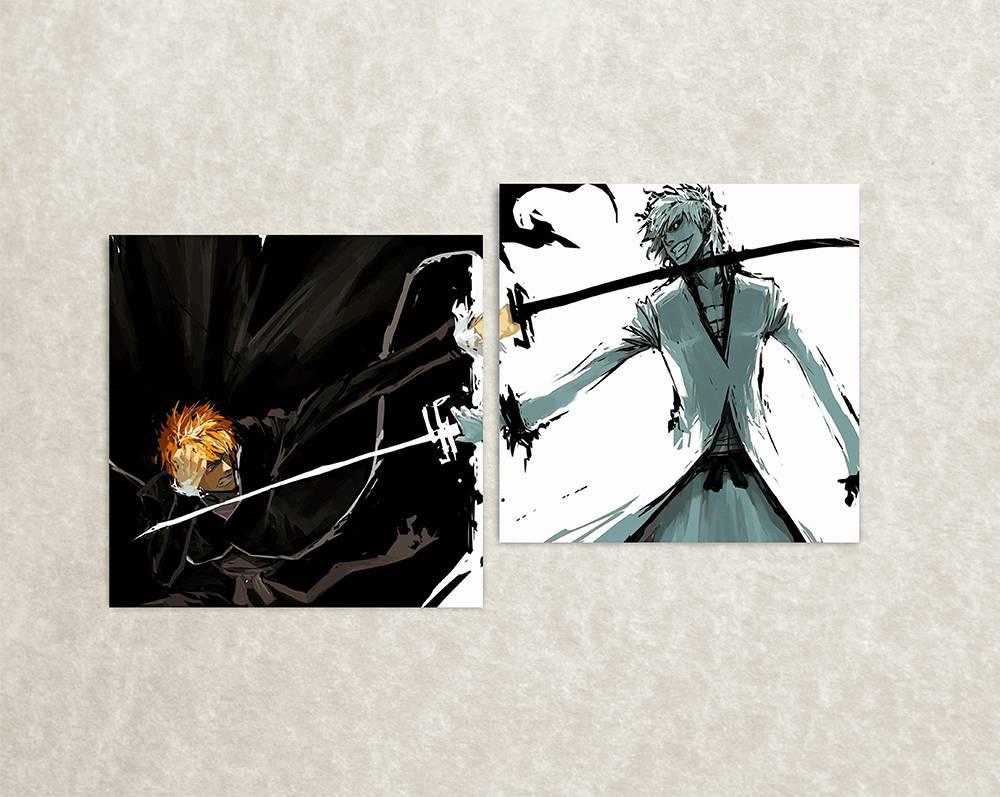 Muurposter van Bleach animereeks