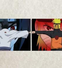 Naruto & Saske