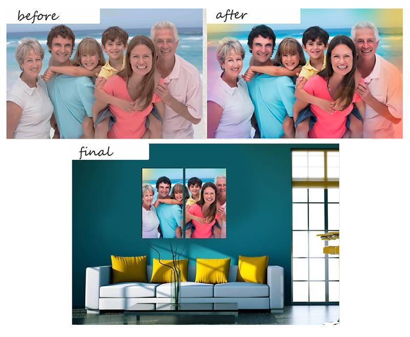 Eigen foto op canvas online bestellen