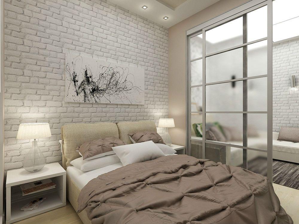 Hoe creëer je ruimte in een klein huis - scheidingswand als decoratie