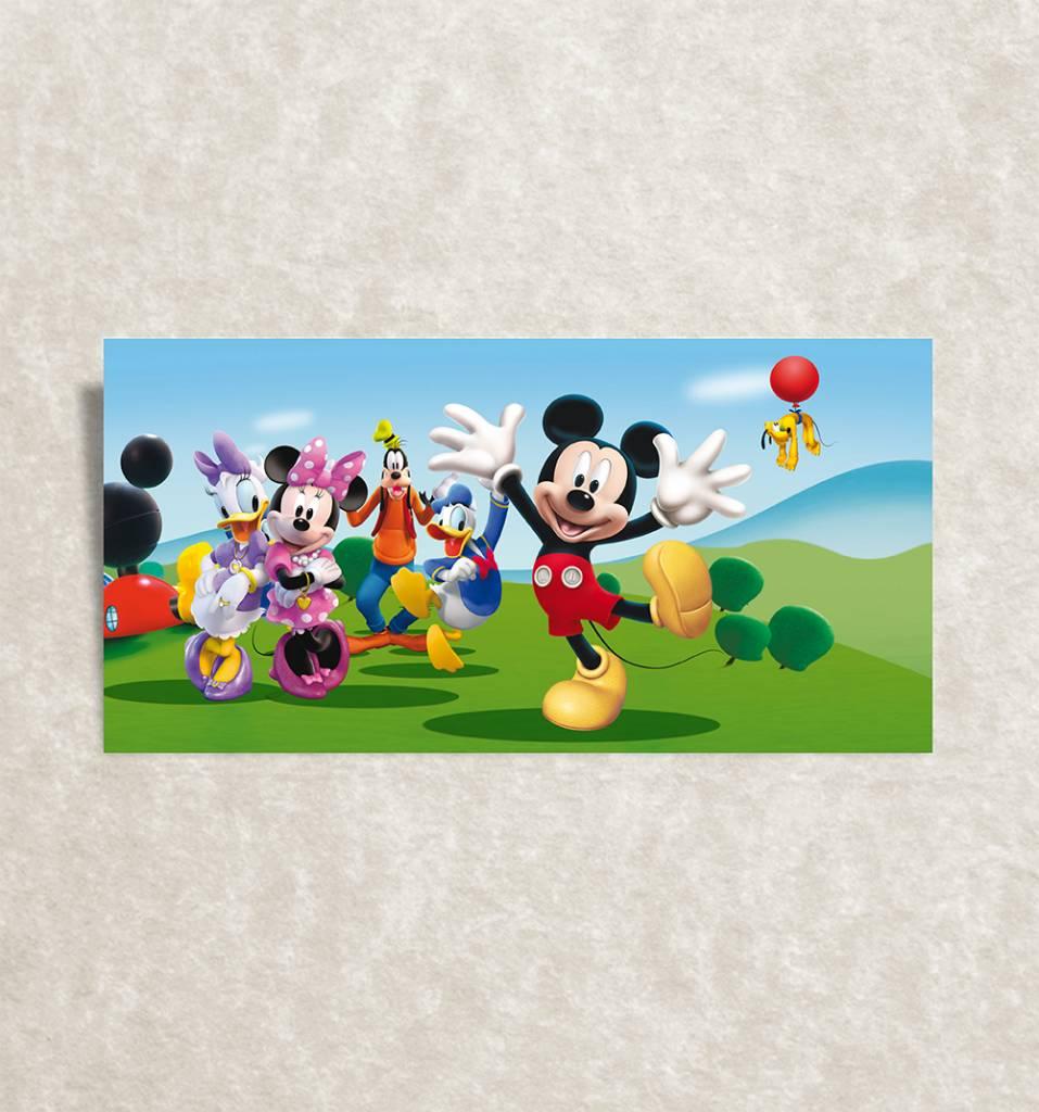 Trendy canvas posters voor kinderkamer - Mickey en zijn vrienden