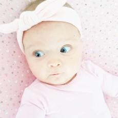 Baby Haarbänder mit Knoten