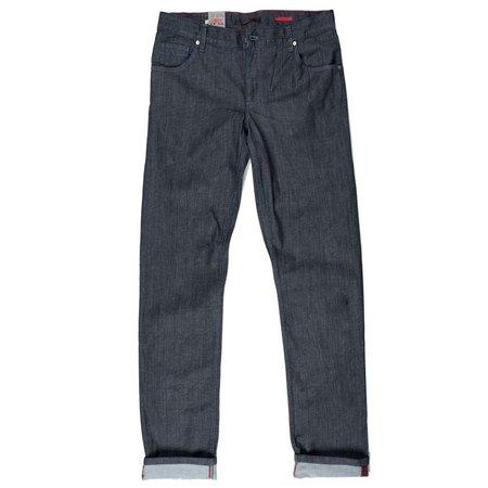 ALBERTO (AO) Jeansblau