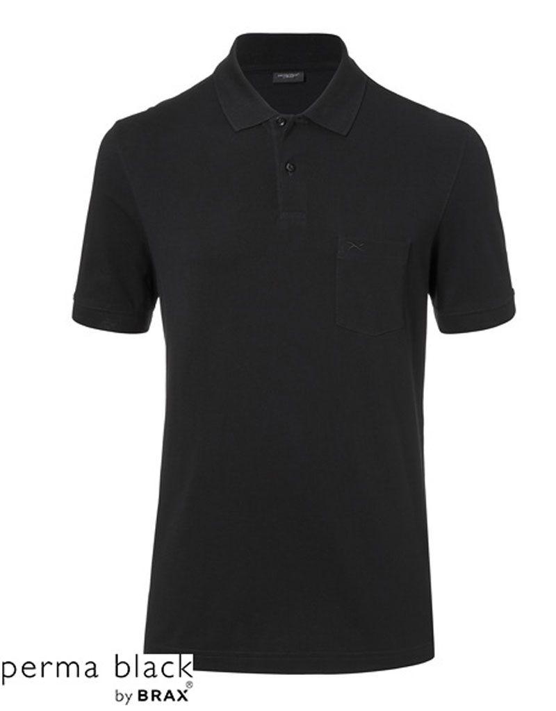 BRAX (BX) Polo schwarz
