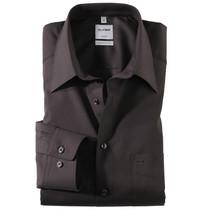Hemd langarm schwarz