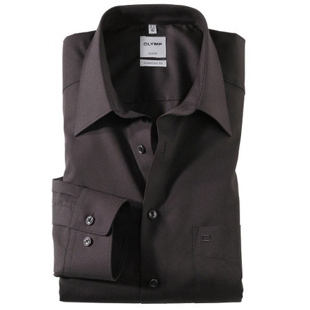 OLYMP Hemd langarm schwarz