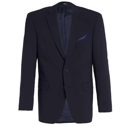 DIEGEL Sakko Anzug blau