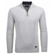 Pullover mit Troyer Zip
